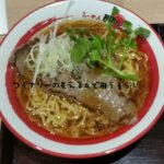 上里SA(サービスエリア)の炙りアンガスサーロインステーキ醤油ラーメンを食べてみた!
