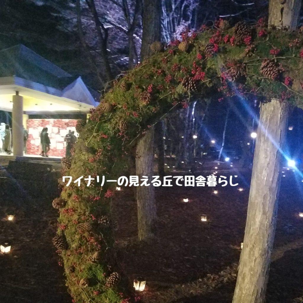 2018最新感想!軽井沢キャンドルナイトの駐車場はまたシャトルバス仕様?